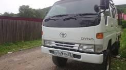 Toyota Dyna. DYNA 97 г мостовая продам, 2 800 куб. см., 1 000 кг.