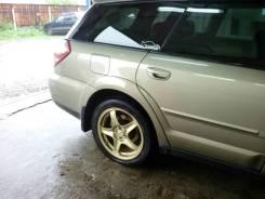 Колёса Prodrive золотые. x17 5x100.00 ET48