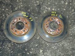 Диск тормозной. Honda HR-V, GH3 Двигатель D16A