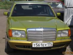 Mercedes-Benz S-Class. механика, задний, 2.7 (137 л.с.), газ