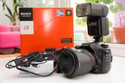 Sony Alpha SLT-A77 Kit. 20 и более Мп, зум: 3х