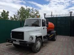 ГАЗ 3309. ассенизатор
