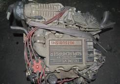 Двигатель в сборе. Mitsubishi Debonair, S11A
