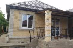 Уютный одноэтажный домик 92 м2 с террасой и подключенным газом за 3500. Майская, р-н Прикубанский, площадь дома 92кв.м., скважина, электричество 15...