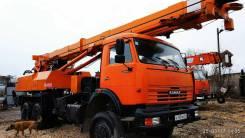 Камаз. Бурильно-крановая машина БКМ-1514, 4 000 кг.