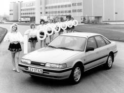 Mazda 626 GD 1987-1991. Mazda 626, GD Двигатель FE