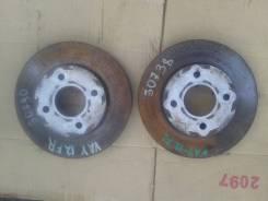 Диск тормозной. Nissan AD, VY12, VAY12, VJY12 Двигатели: MR18DE, HR15DE, CR12DE