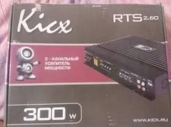 Усилитель звука Kicx RTS 2.60