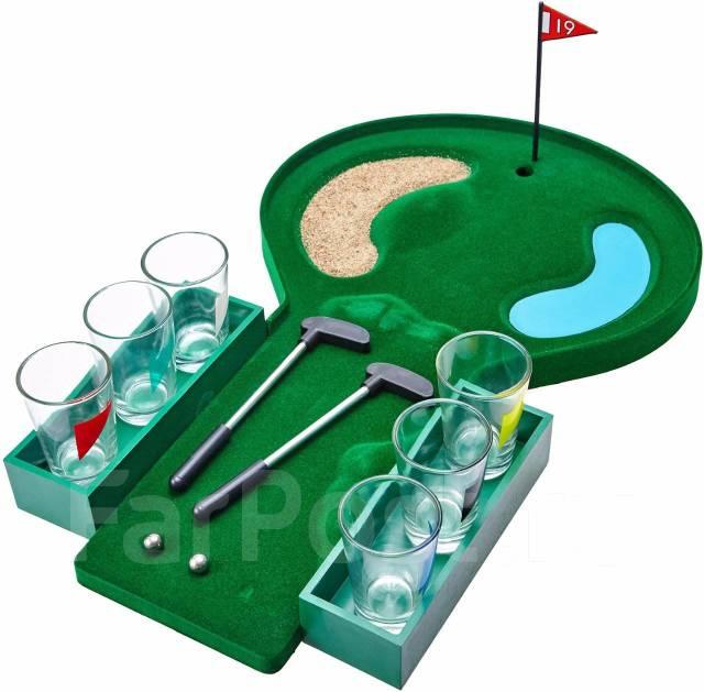 Мини-гольф.