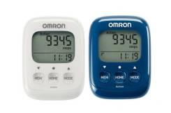 Шагомер электронный OMRON HJ-325 (синий, белый)