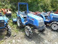 Iseki. Трактор 21л. с., 4wd, ГУР, фреза в комплекте