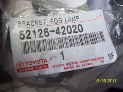 Крепление противотуманной фары. Toyota RAV4, ACA38, ACA36, GSA33, ALA30, ACA30, ACA31, GSA38, ACA33 Toyota Isis, ANM10, ANM15, ZGM10, ZGM11, ZNM10, ZG...