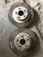 Диск тормозной. Subaru Impreza, GH2 Двигатель EL15
