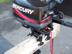 Mercury. 5,00л.с., 2х тактный, бензин, нога S (381 мм), Год: 2011 год