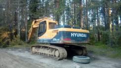 Hyundai R220LC. Экскаватор
