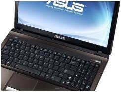 "Asus K53SD. 15.6"", 2 300,0ГГц, ОЗУ 4096 Мб, диск 250 Гб, WiFi, аккумулятор на 4 ч."