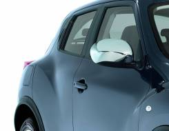 Накладка на зеркало. Nissan Juke, SUV, F15, NF15, YF15 Двигатели: HR16DE, MR16DDT, HR15DE. Под заказ