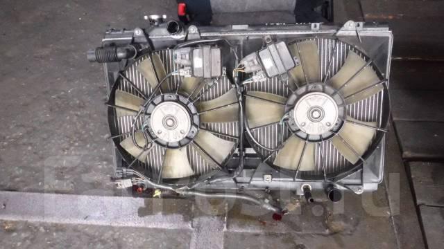 Радиатор охлаждения двигателя. Toyota Aristo, JZS161