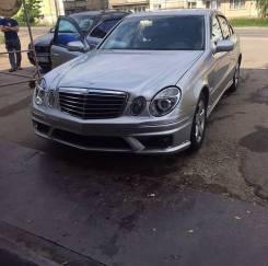 Бампера Mercedes W211 6.3 AMG бампера