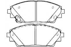 Колодка тормозная. Mazda Mazda3