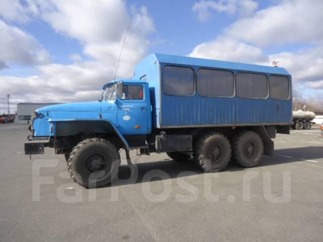 Урал 32551-0011-41. Автомобиль УРАЛ-32551-0011-41 (вахта), 11 150 куб. см.