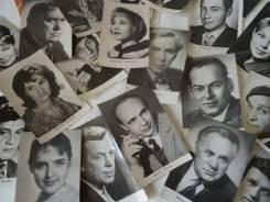 Коллекция фотографий актеров советского кино. 234 открытки. Оригинал