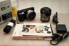 Sony Alpha NEX-F3 Kit. 15 - 19.9 Мп, зум: 3х