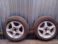 Bridgestone Blizzak. Всесезонные, 2015 год, износ: 20%, 4 шт