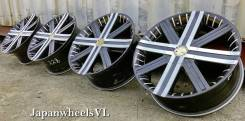 M'z SPEED. 7.5x18, 5x100.00, 5x114.30, ET48, ЦО 72,7 мм.