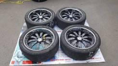 Крутейшие колеса Auto Couture цвет черный + хром полка R22 5x120. 10.5x22 5x120.00 ET32 ЦО 78,0мм.