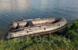 Лодка Гидра / Hydra 350 Про, ткань 850 г/м2. Год: 2017 год, длина 3,50м., двигатель подвесной, 18,00л.с., бензин
