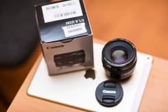 Объектив Canon EF 50mm f/1.4 USM. Для Canon, диаметр фильтра 58 мм
