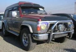 Дефлектор лобового стекла. Nissan Patrol, Y60 Nissan Safari