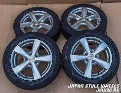 Aga Targa 7Jx16'' 5x112 ET53 D73.1 Dunlop DSX-2 205/55R16 зима 6-7 мм. 7.0x16 5x112.00 ET53 ЦО 73,1мм.