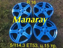 Manaray Sport. 7.0x16, 5x114.30, ET53, ЦО 70,0мм.