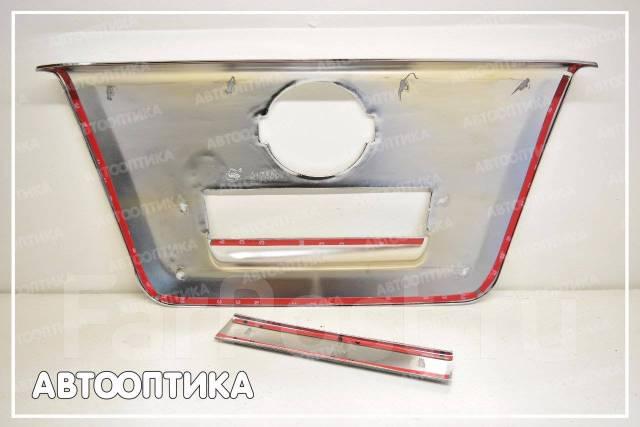 Накладка на ручки дверей. Nissan Navara