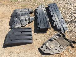 Защита днища GDB лиса, обтекатели, дефлектор. Subaru Impreza WRX STI, GDB
