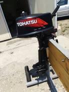 Tohatsu. 5,00л.с., 2х тактный, бензин, нога S (381 мм), Год: 2007 год