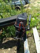 Лодочный мотор. 6,00л.с., 2х тактный, бензин, нога S (381 мм), Год: 2010 год