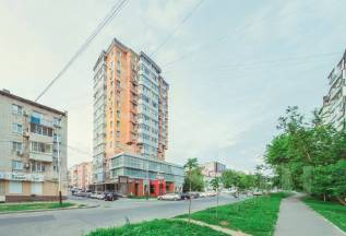 3-комнатная, улица Владивостокская 22. Железнодорожный, агентство, 90 кв.м.