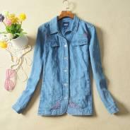 Джинсовая куртка-пиджак на лето, бренд Basic Editions Woman. Новая!. 58, 60, 62