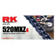 Цепь RK520Mxz4 без сальников 120звеньев Сталь