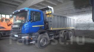 Scania. Грузовой Самосвал P6X400, 2013 г. в., 11 700 куб. см., 25 000 кг.