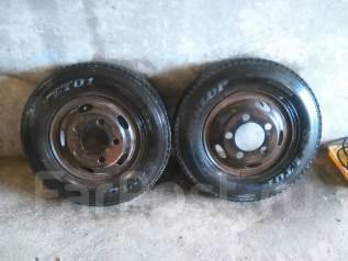 Колеса грузовые с резиной Dunlop SP LT01 с дисками на Canter, Atlas. 5.5x16 5x150.00 ЦО 150,0мм.