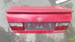 Крышка багажника. Toyota Corona, ST191, CT190, AT190 Toyota Carina E, AT191, AT190, ST191, CT190 Двигатели: 3SFE, 2C, 2CT, 4AFE, 7AFE