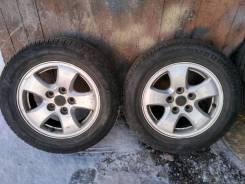 Комплект колес на лето R15 5*114.3. 5.5x15 5x114.30 ET35 ЦО 61,0мм.