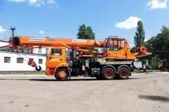 Клинцы КС-55713-1К-4В. КС 55713-1К-4В автокран 25т. (Камаз-65115) Овоид, 25 000 кг., 33 м.