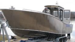 Русбот-95. Год: 2017 год, длина 9,50м., двигатель подвесной, 300,00л.с., бензин. Под заказ