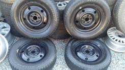 Bridgestone Blizzak Revo2. Всесезонные, 2008 год, износ: 30%, 4 шт