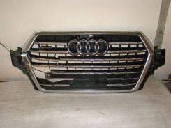 Решетка радиатора. Audi Q7, 4MB Двигатели: 1T, CEUA, CREC, CRTC, CRTE, CUEA, CVJA, CVMD, CVZA, CYMC, CYRB, CZAA, CZAC, CZZA, CZZB, DDEA, PR